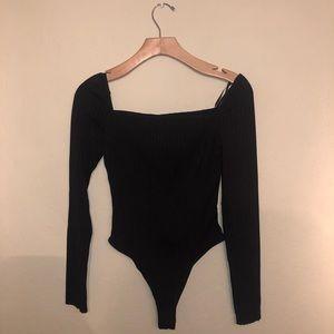 Bodysuit. Long sleeve.